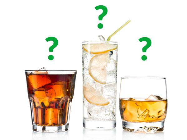 3 alcoholic drinks