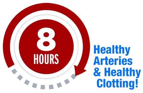 Healthy arteries in 8 hours image
